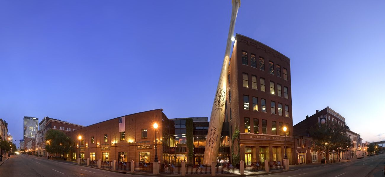 Louisville Slugger Museum, home of the world's largest bat