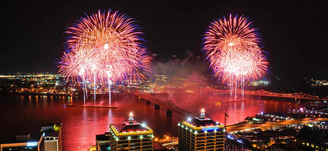 Thunder Over Louisville, the nation's largest firework display